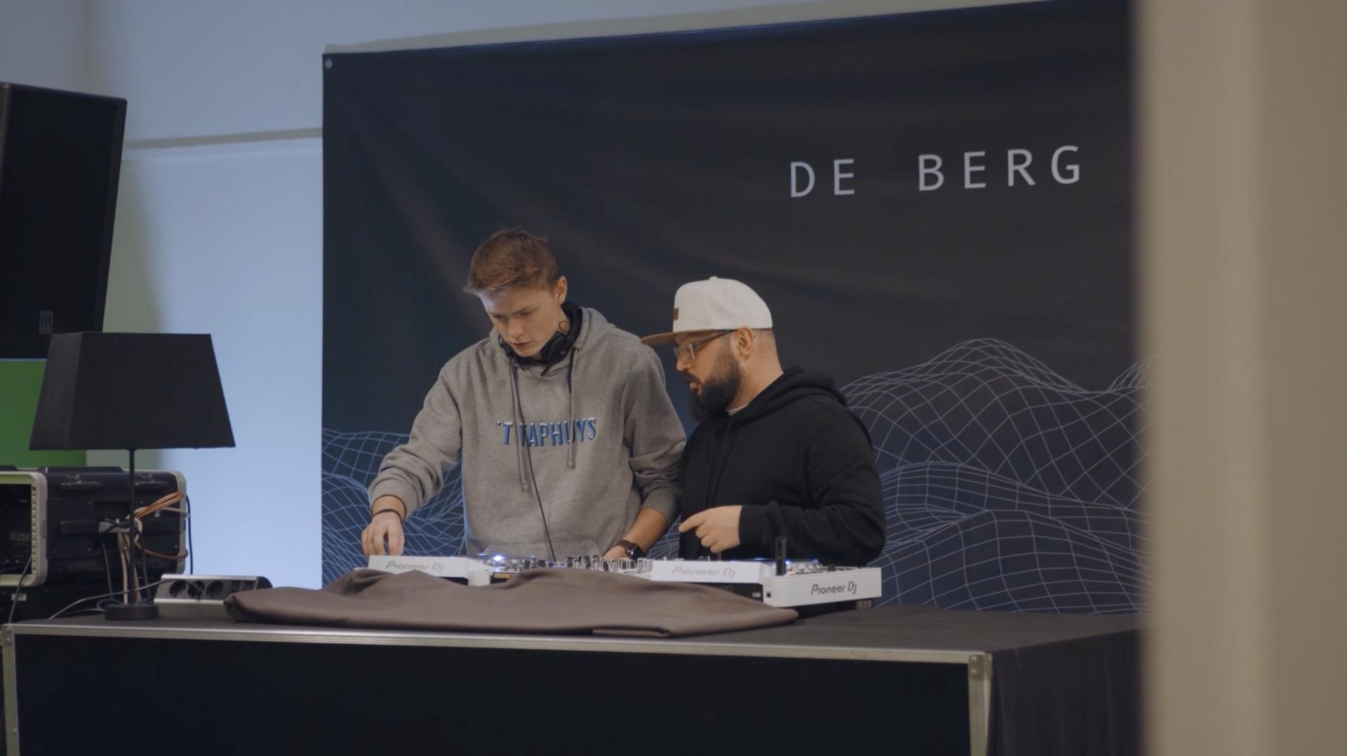 DJ studio de Berg